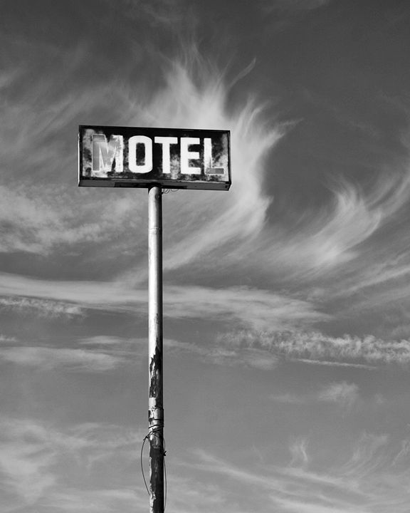 MOTEL CALIFORNIA BLACK AND WHITE - WDPS Gallery