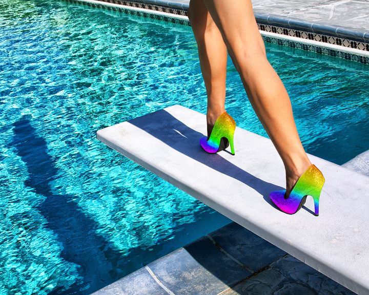 OVER THE RAINBOW HEELS - WDPS Gallery