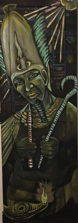 Majestic Osiris - Kimberly McIntire