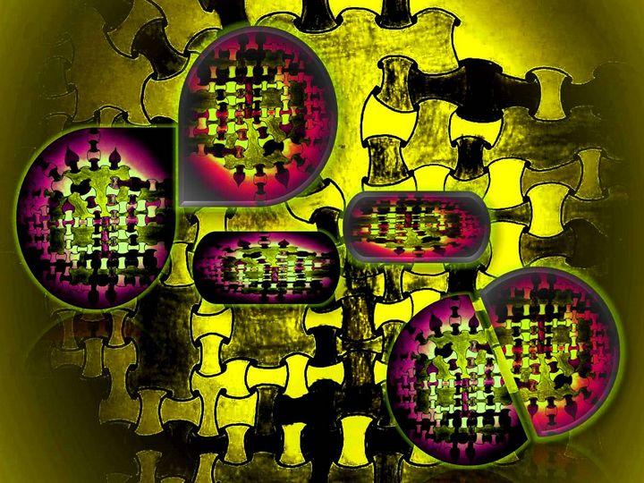 Abstract puzzle - Pakokante