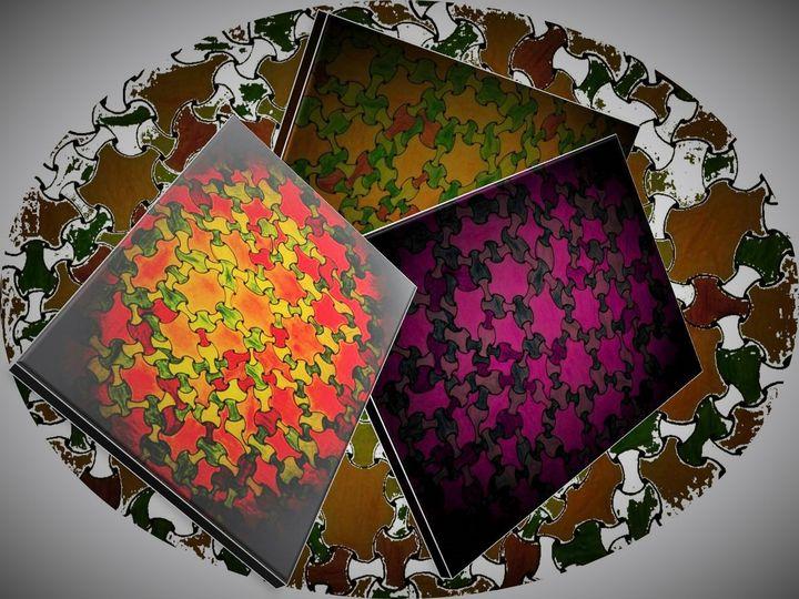 Puzzle canvas - Pakokante