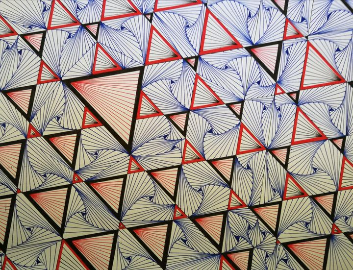 Triangles and shapes - Pakokante