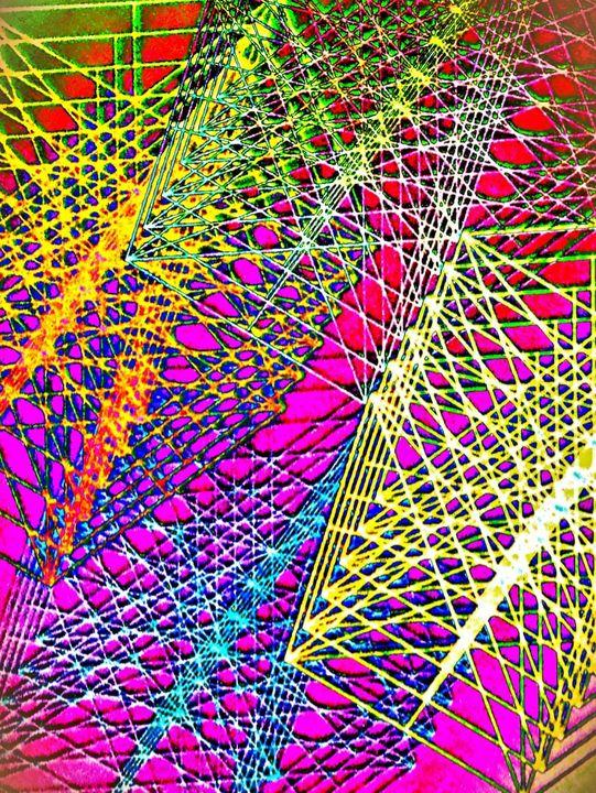 Colorful strings - Pakokante