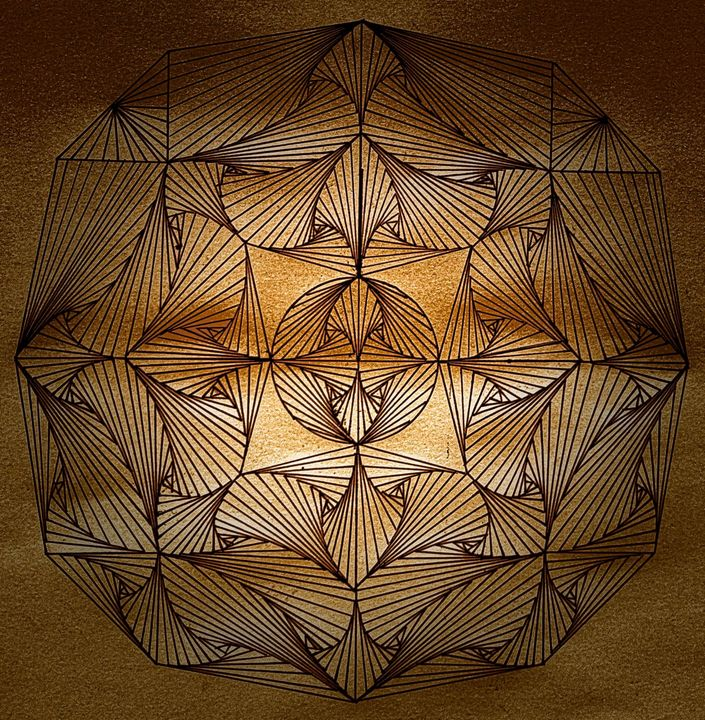 Symmetry in the sand - Pakokante