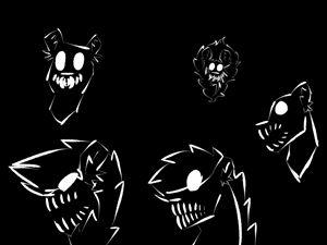 Skull Lions