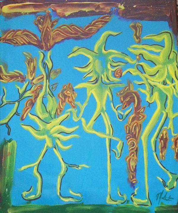 Sunflower yogi - Wildflower visuals