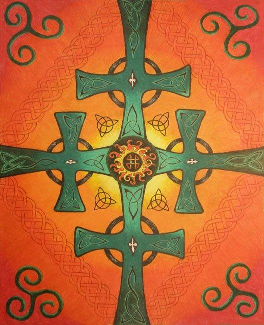 Celtic Crosses - Kelly Wood
