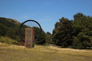Mining Wheel, Wales