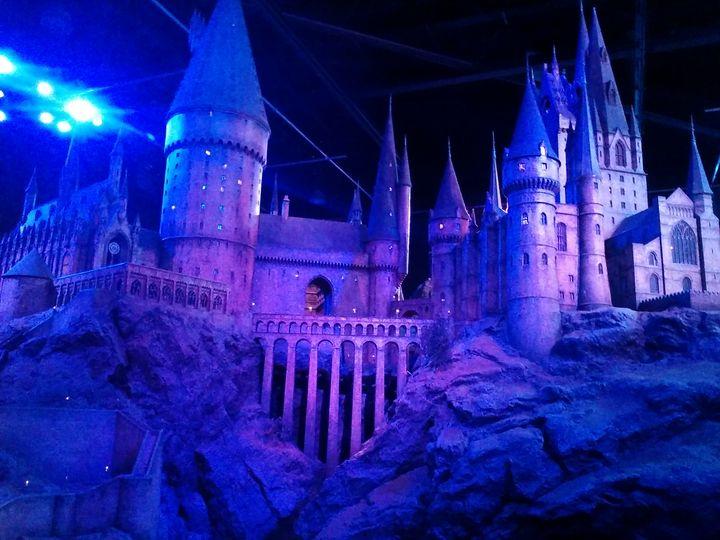 Hogwarts, Harry Potter - Bex Art