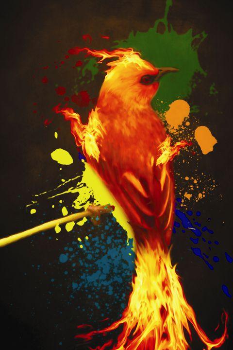 Plumage of the Phoenix - Graphic Dragon