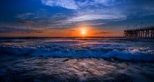 Daytona Beach Sunrise #003
