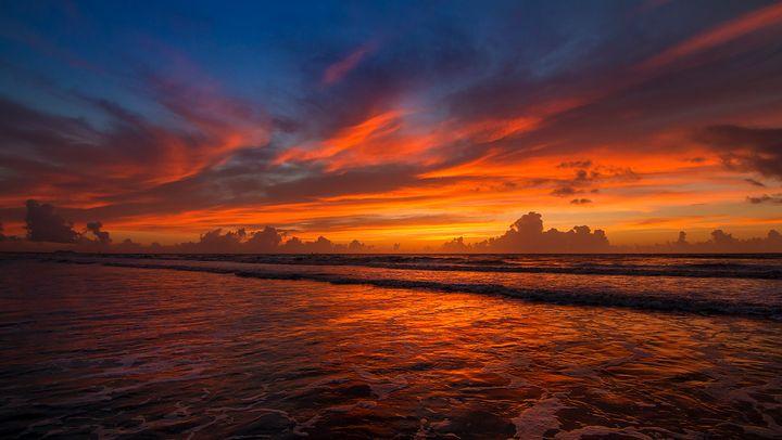 Cocoa Beach #005 - Art Cid Fine Art