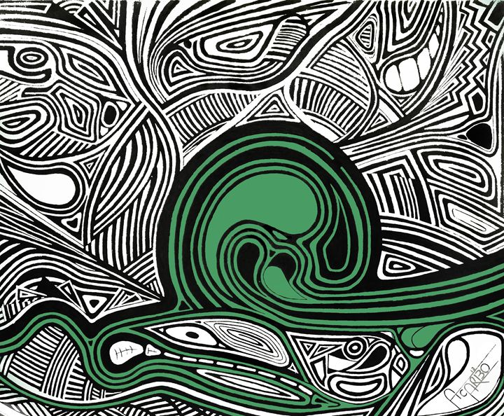 Depth1 (Green) - Andres Carbó