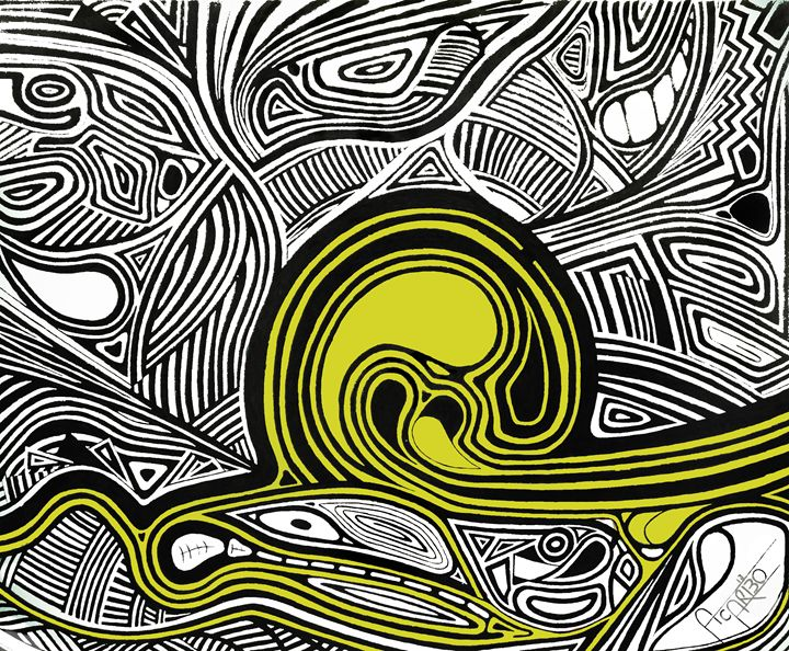 Depth1 (Yellow) - Andres Carbó