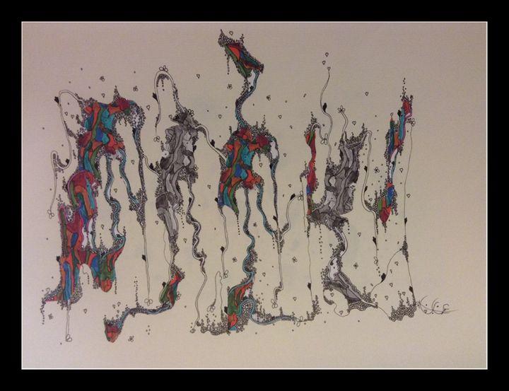 Dancing lines - Neyla art