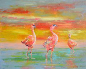 Pinkies Flamingo