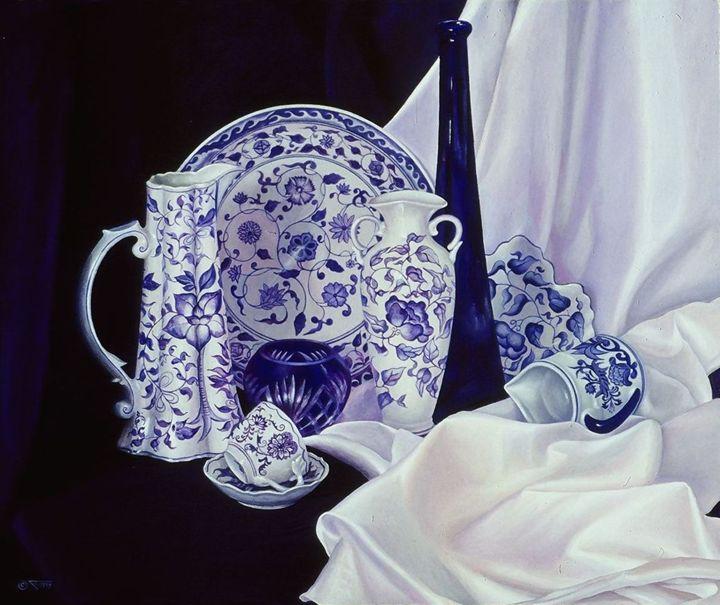 Blue & White - Tatiyana Kraevskaya
