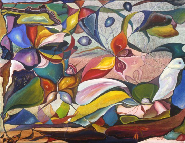 Saddle Dove - Tatiyana K. Fuhrman