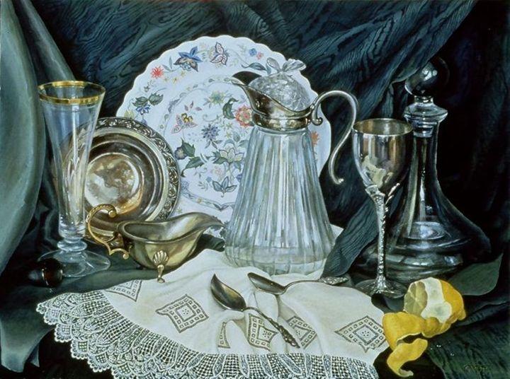 Still Life with lemon - Tatiyana Kraevskaya