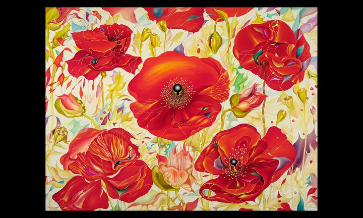 Red Poppies - Tatiyana Kraevskaya
