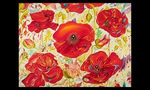 Red Poppies - Tatiyana Kraevskaya