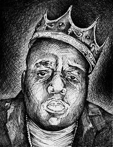 Biggie Smalls 8.5X11