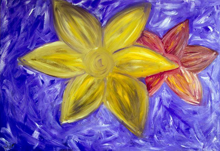 Lillies - Mel Masoni Abstract Paintings