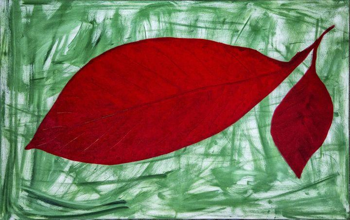 Just leave - Mel Masoni Abstract Paintings