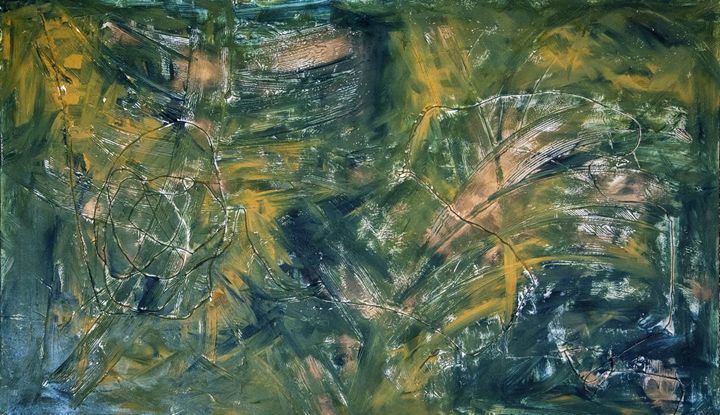 sunshine in the forrest - Mel Masoni Abstract Paintings