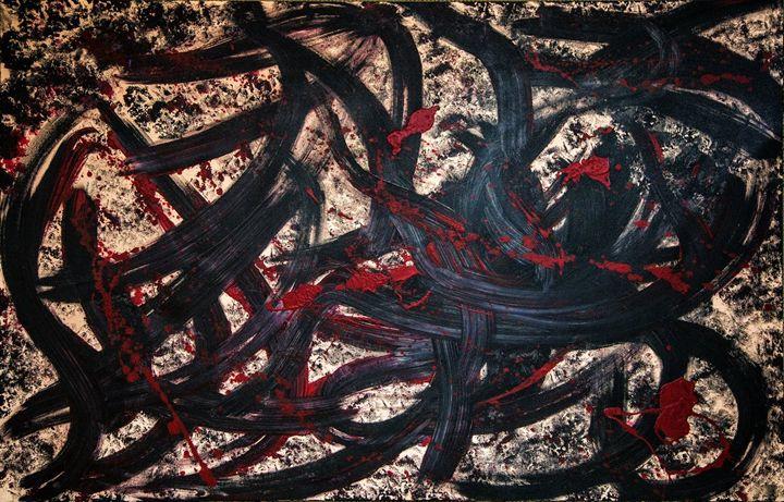 passion / paixão - Mel Masoni Abstract Paintings