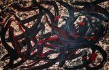 80x100 cm expressionist dark