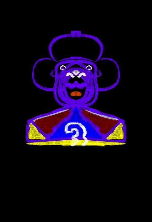Art the Purple Bear - Glow