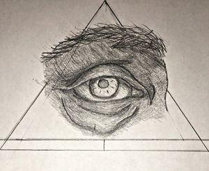 Da Vinci's eye