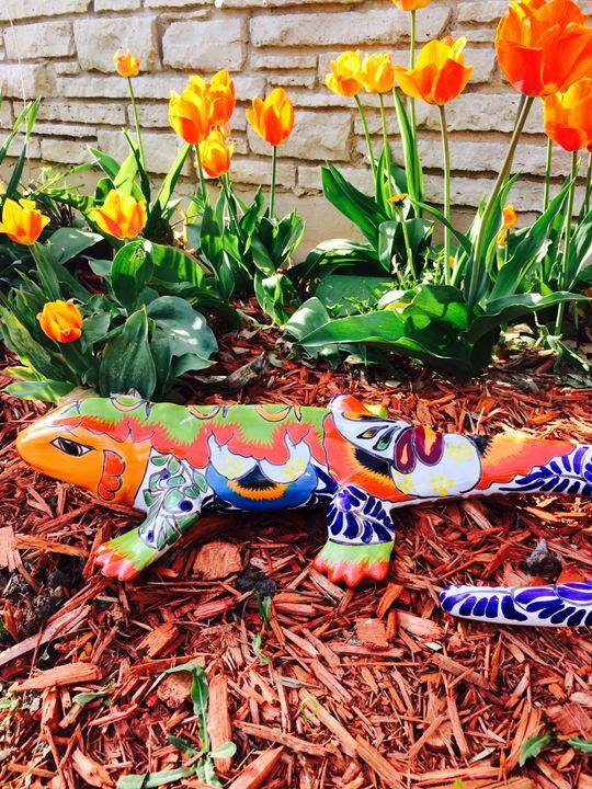Lizard In The Garden - GStack