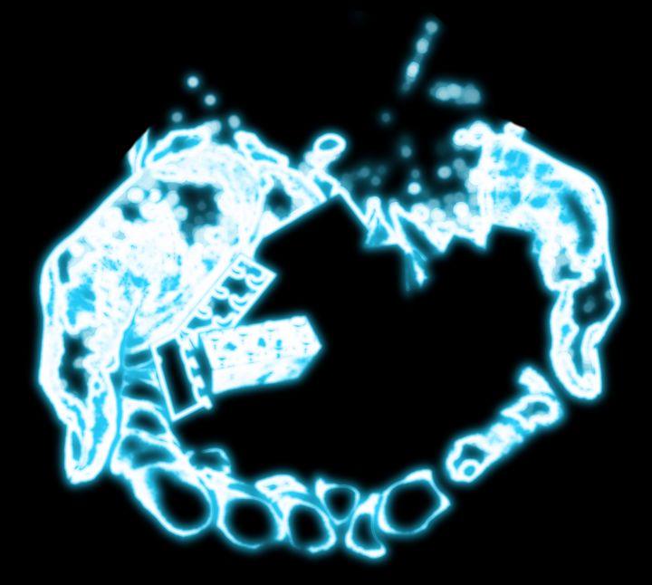 Neon hands - findingNull