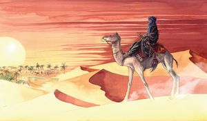 Touareg-Desert-Africa-Oasis