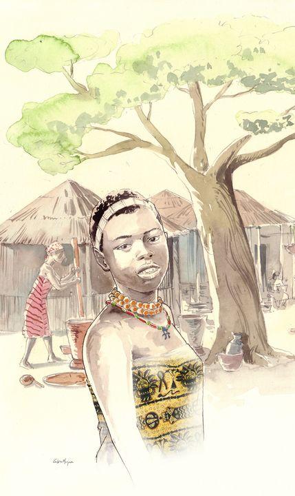 African Girl - Tfantasy