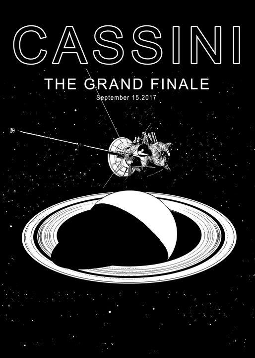 Cassini–Huygens, The Grand Finale - Tfantasy