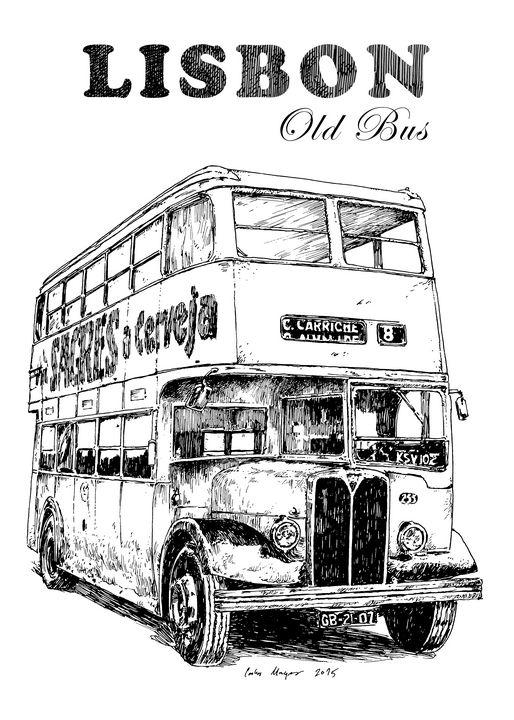 Lisbon Old Bus - Tfantasy