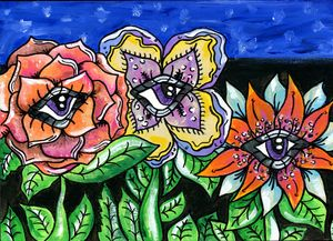 The Flowers With Eyes