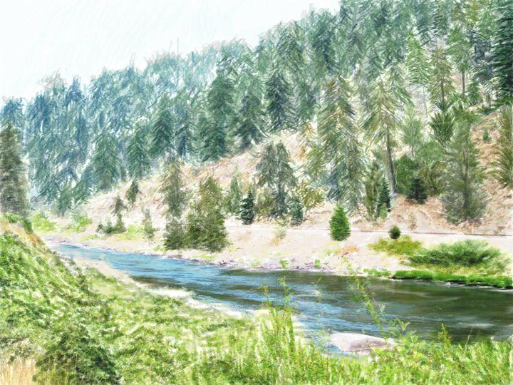 Along the river side - E.O.D