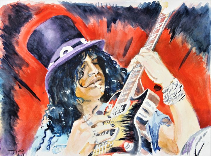 Slash in Watercolor - Jimbo Studio