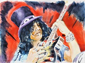 Slash in Watercolor