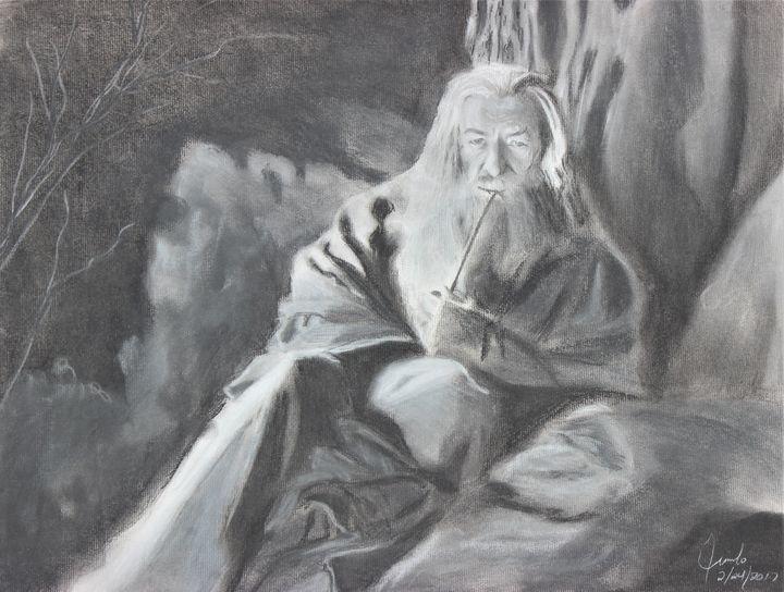 Gandalf the Grey - Jimbo Studio