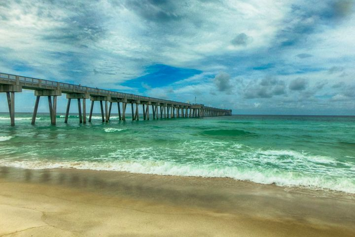 Fishing Pier - Judith Lee Folde Photography & Art