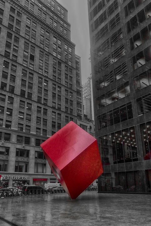 Red Cube - Judith Lee Folde Photography & Art