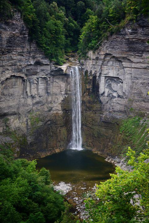 New York Mountain Waterfall - Judith Lee Folde Photography & Art