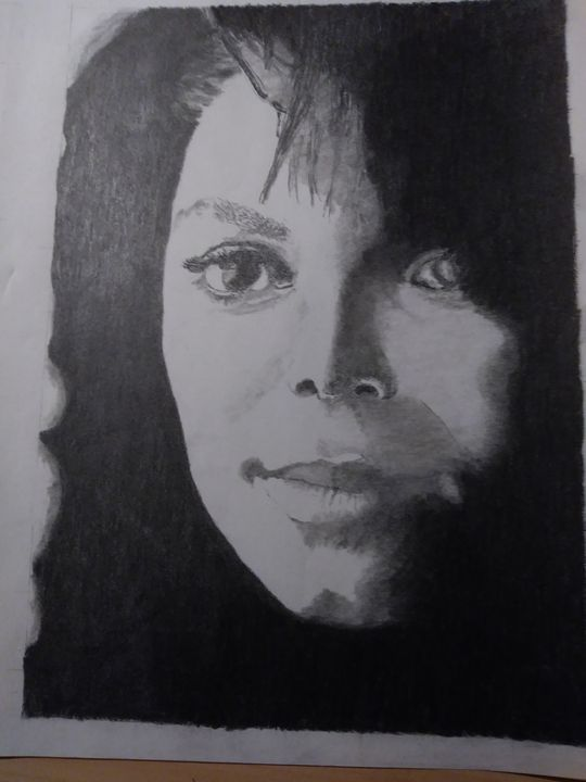 Janet Jackson - DRAWINGS BY RAY