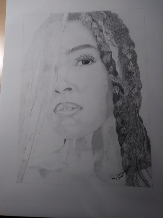 Janelle Morae - DRAWINGS BY RAY