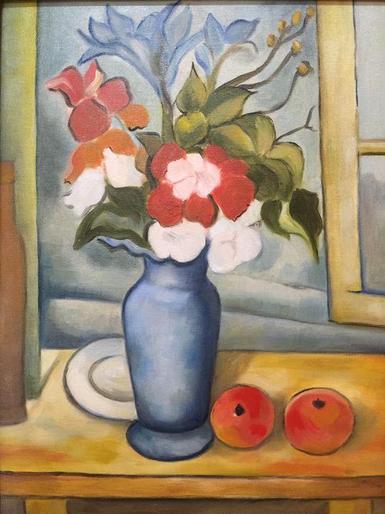 Blue vase - Leonardo Craciun